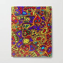 Abstract #416 Metal Print