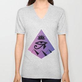 Egyptian symbol Unisex V-Neck