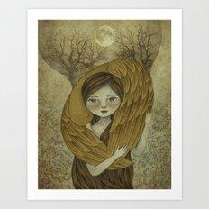 To Innocence Art Print