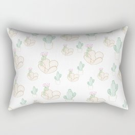 Cactus Frenzy Rectangular Pillow