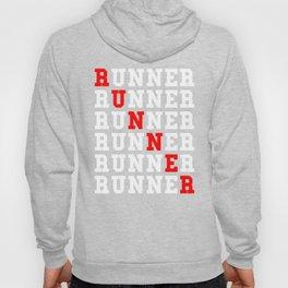 Repeating Runner Running Hoody