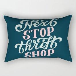 Next Stop Thrift Shop Rectangular Pillow