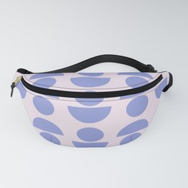Shapes in Periwinkle Fanny Pack