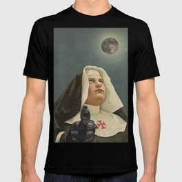 NUN WITH A GUN T-shirt