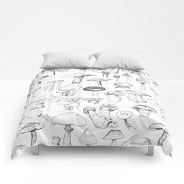 The mushroom gang Comforters
