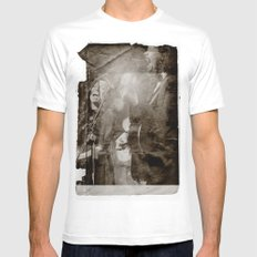 The Civil Wars White MEDIUM Mens Fitted Tee