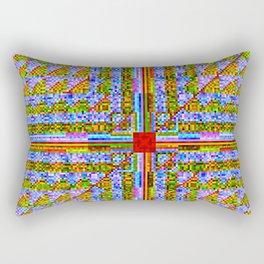 """944 + (Sin(i ÷ (k + 0.001)) × k + Sin(j ÷ (n + 0.001)) × n) × 39333    [""""Staic""""] Rectangular Pillow"""