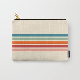 Rainbow Stripes II Carry-All Pouch