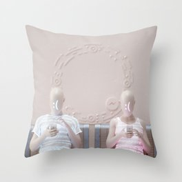 """Connection"" Throw Pillow"