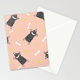 Pink Sploot Stationery Cards