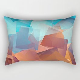 Cubism Abstract 177 Rectangular Pillow