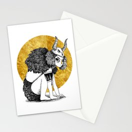 Golden Warrior Stationery Cards