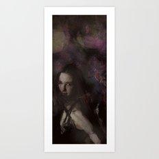 Flow Portrait Art Print