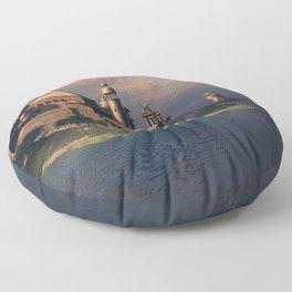 Beautiful Fantasy Town Floor Pillow