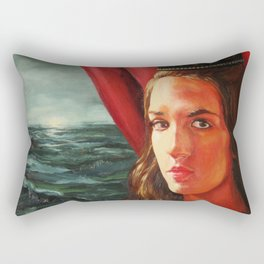 The Black Crown Rectangular Pillow