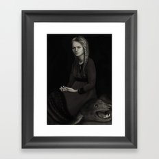 I Won Framed Art Print