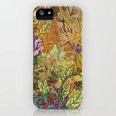 Floral Garden Slim Case iPhone (5, 5s)
