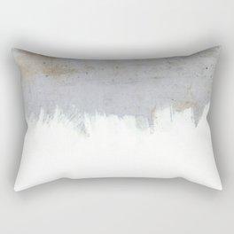 Painting on Raw Concrete Rectangular Pillow