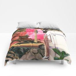 """City Vacation"" Comforters"
