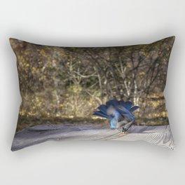 Going For It Rectangular Pillow