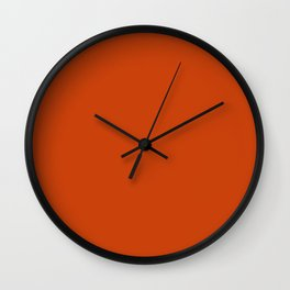 Sinopia Wall Clock