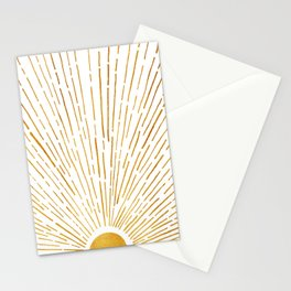 Let The Sunshine In 2 / Vertical Version Stationery Cards
