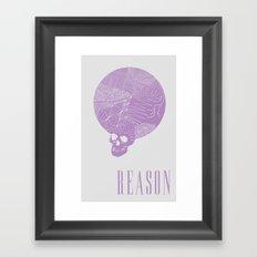 Reason Framed Art Print