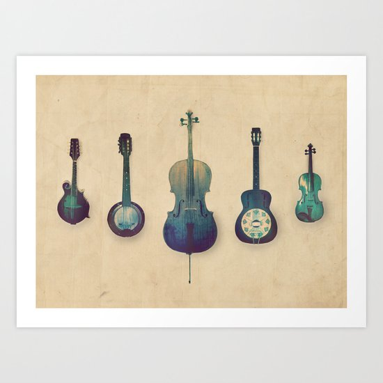 Good Company Art Print