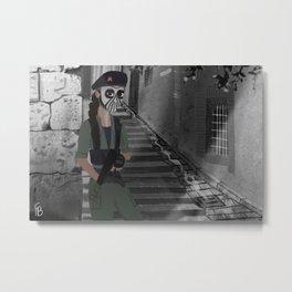 Caveira Metal Print