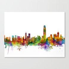Hong Kong Skyline Canvas Print