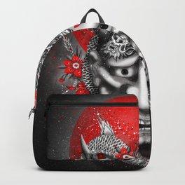 Hannya dragon mask Backpack
