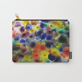Aqua Flora Carry-All Pouch