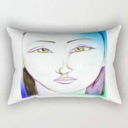 The peaceful soul Rectangular Pillow