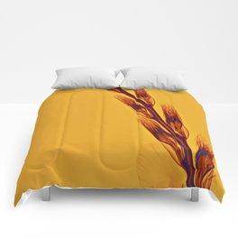 X-rayed Gladiola Comforters