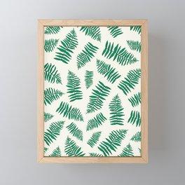 FERN PATTERN Framed Mini Art Print