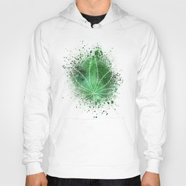 Pot Leaf Space Dust Hoody