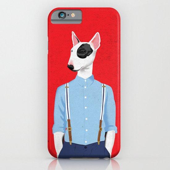 Skinhead Bull Terrier iPhone & iPod Case