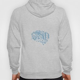 Electric brain Hoody