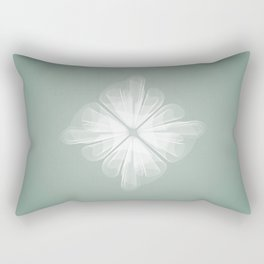 White Tulle Rectangular Pillow