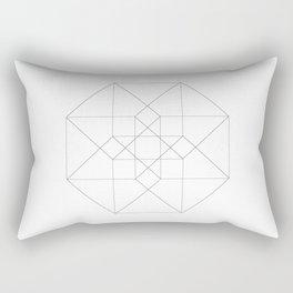 Tesseract Rectangular Pillow