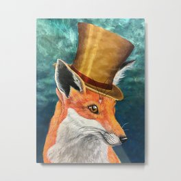 Reginald Foxersworth Metal Print