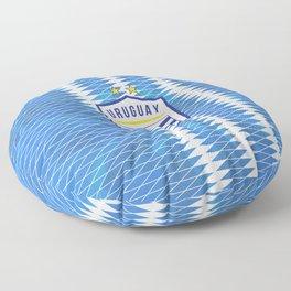 Uruguay Football Floor Pillow
