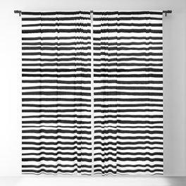 Ink Stripes Pattern Blackout Curtain