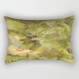 Don't turn round Rectangular Pillow