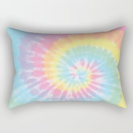 Pastel Tie Dye Rectangular Pillow