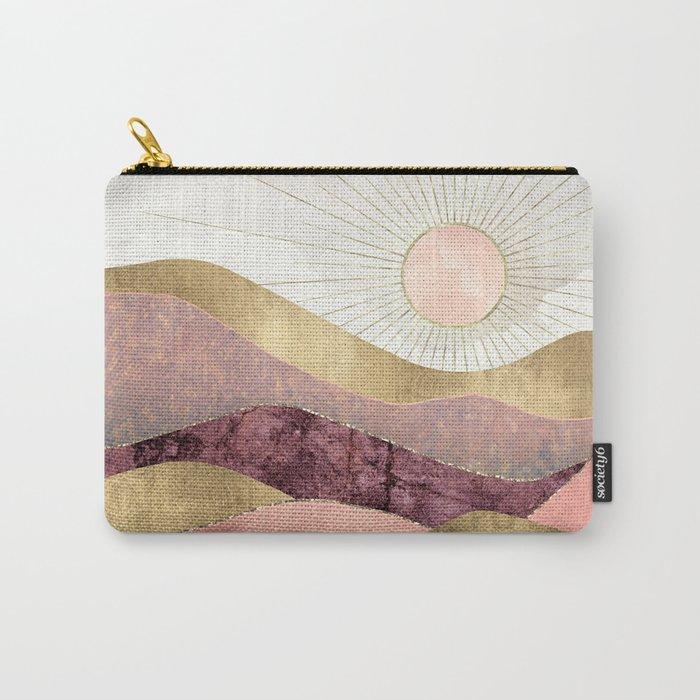 Blush Sun Carry-All Pouch