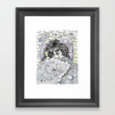 Napping In... The Twilight Zone Framed Art Print