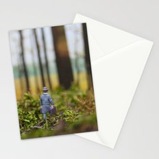 In Search of Bigfoot (Ode to Thoreau) Stationery Cards