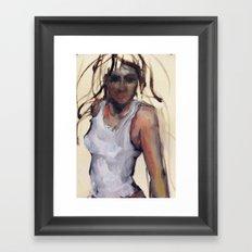 The Lurk Framed Art Print