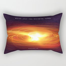 """Birth your new Universe"" Rectangular Pillow"